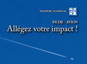Avion: allégez votre impact