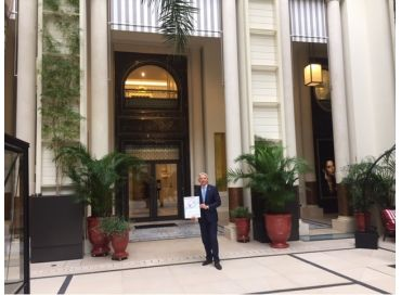 L'Hôtel de Paris, un écrin de légende sur la voie verte de l'excellence