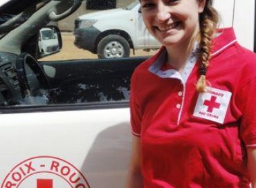 Laetitia Vecchierini Volontaire Internationale de Monaco auprès de la Croix-Rouge du Burkina Faso