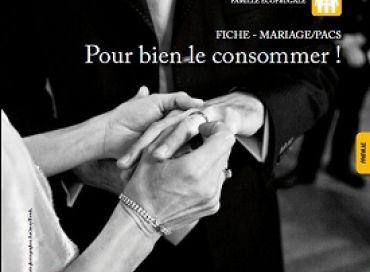 Le mariage écofrugal