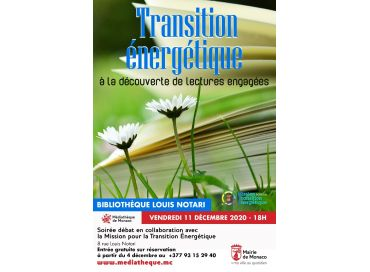 Lectures engagées dans la Transition Verte et Voyage Responsable en décembre en Principauté