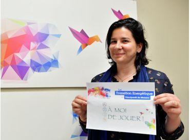 Sandrine, spécialiste de l'infomation, en mission pour la transition