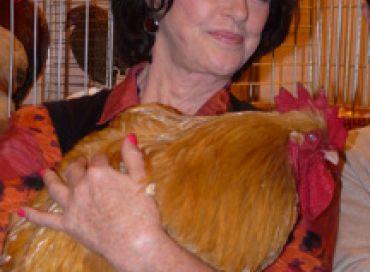 Annie Duperey au salon de l'agriculture