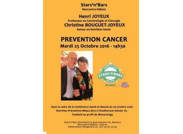 Prévention Cancer avec le Professeur Henri Joyeux