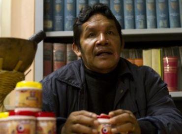 Obadias Batista Garcia chef des indiens Satéré Mawé