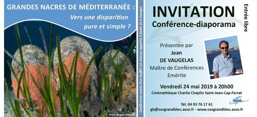 Conférence SOS Grand Bleu :
