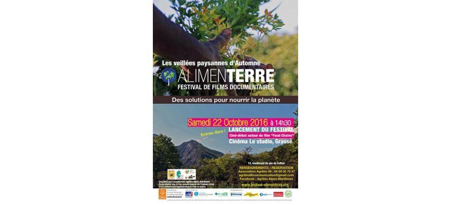 Festival Alimenterre à Grasse samedi 22 octobre