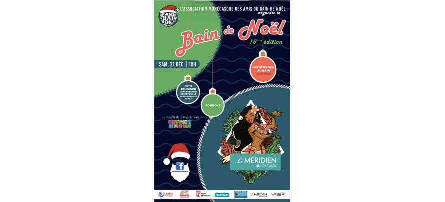 Bain de Noël à Monaco, 21 décembre à 10h