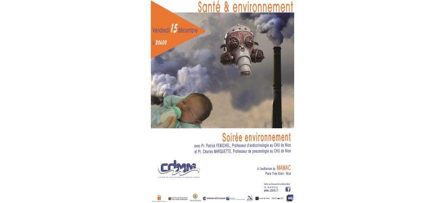 Conférence Santé et Environnement