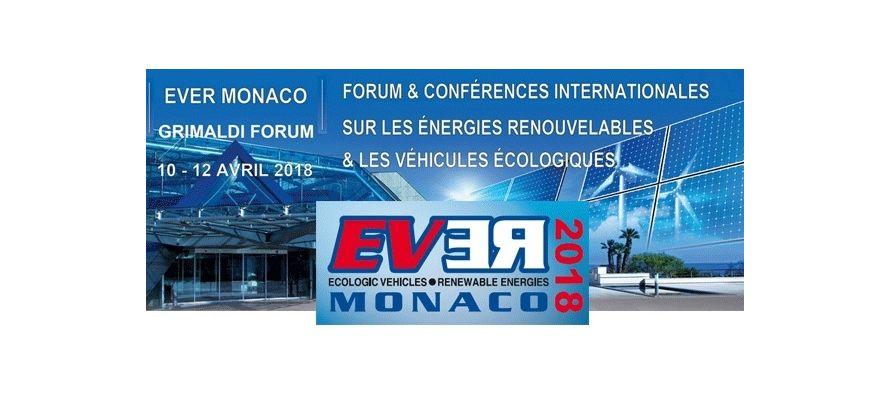 Salon EVER 2018 : du 10 au 12 avril 2018 à Monaco