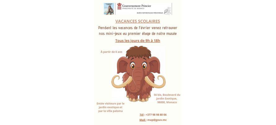 Sur les traces de Stepan le mammouth au Musée d'Anthropologie Préhistorique de Monaco