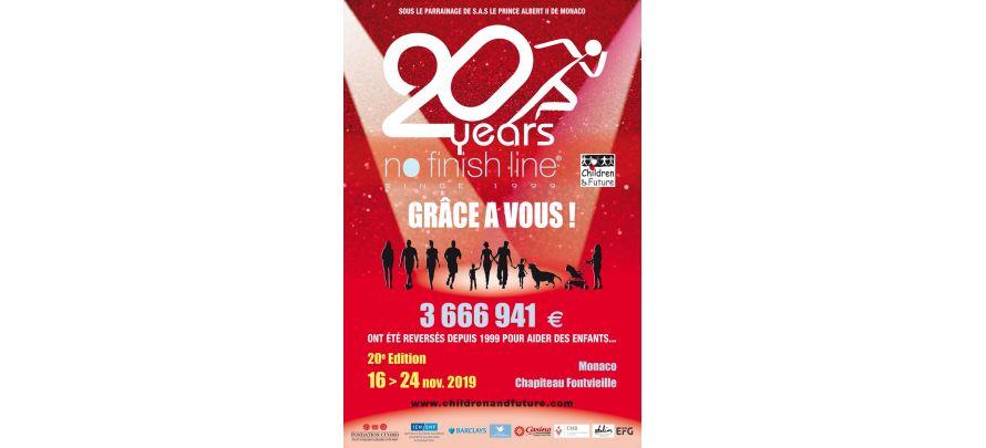 20ème édition de la No Finish Line à Monaco du 16 au 24 novembre