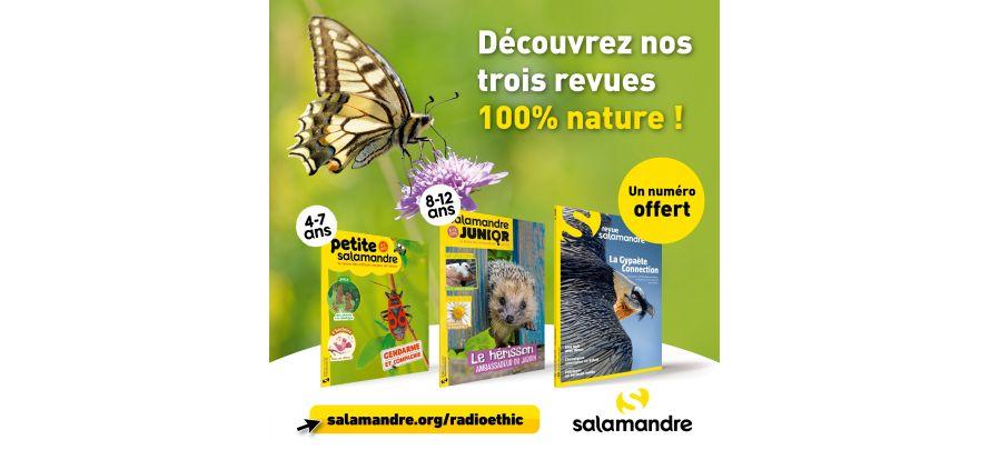 La Salamandre, magazine nature pour tous les âges