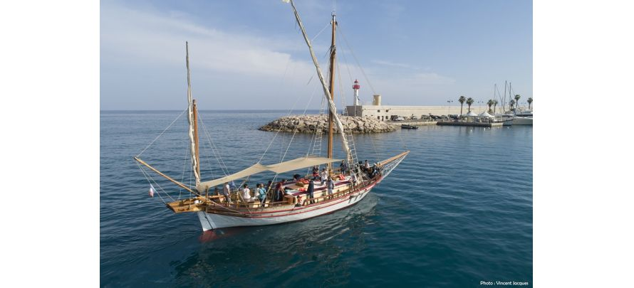 Sortie en mer à bord du voilier «   Santo Sospir » avec SOS Grand Bleu