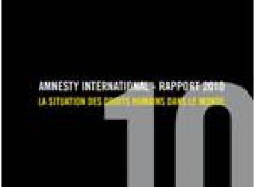Amnesty international sort son rapport 2010
