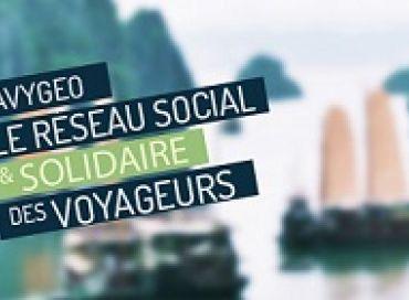 Avygeo, le réseau social et solidaire des voyageurs