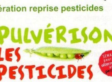 Semaine sans pesticides avec Botanic