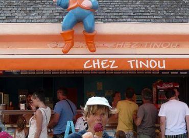 Des glaces aux 100 parfums, c'est chez Tinou