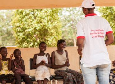L'espoir pour les jeunes filles d'Afrique