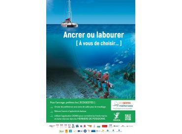 S'ancrer sans labourer avec Ecogestes Mediterranée