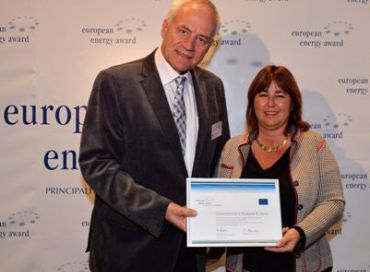 Monaco reçoit le European Energy Award
