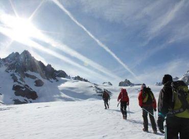 Mon empreinte au sommet du Mont Blanc