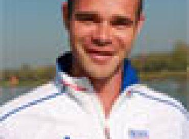 Portrait d'un champion de Paracanoë