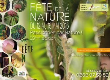 La Fête de la Nature c'est du 12 au 16 mai à la Réunion