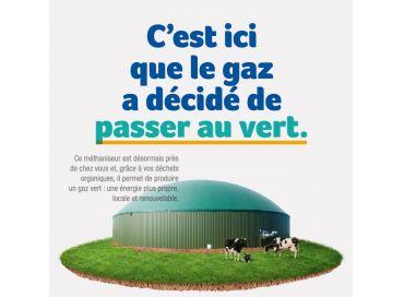 Découvrez un gaz renouvelable : le gaz vert !