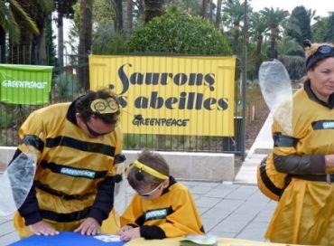Non aux pesticides tueurs d'abeilles