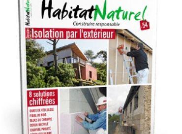 Habitat naturel : isolation par l'extérieur