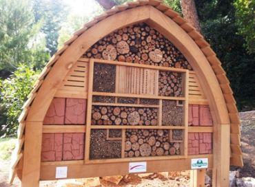 Un hotel pour nos pollinisateurs