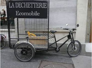 L'atelier vélo de la ressourcerie l'Interloque à Paris