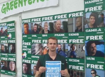 James : portrait d'un coordinateur de Greenpeace