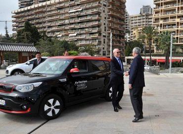 Mobilité durable au Salon Ever de Monaco avec la Kia Soul Ev