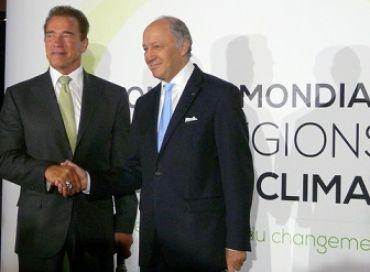 Laurent Fabius au Sommet Mondial des Régions