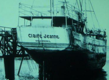 A bord du Claire Jeanne