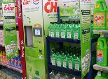 Distributeur de lessive Le Chat