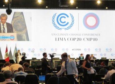 Debriefing de la COP 20 à Lima avec Green Cross France