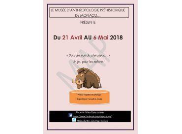 Dans les pas du chercheur... animation pour les enfants au Musée d'Anthropologie de Monaco