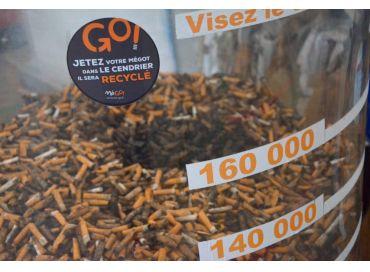 MéGO! Ensemble recyclons les mégots de cigarettes