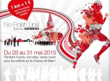 La No Finish Line à Paris du 28 au 31 mai 2015