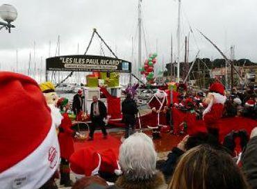 Le Père Noël à Sanary-sur-Mer
