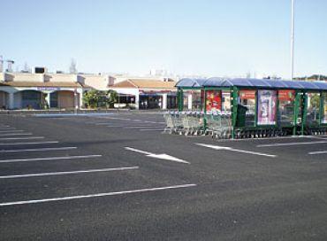 Les parkings des grandes surfaces, sources de pollution ?
