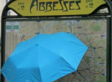 Paris sous la pluie encore et encore...
