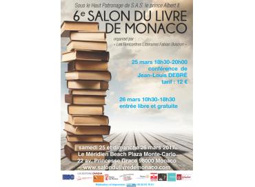 Salon du Livre de Monaco : 6ème édition !