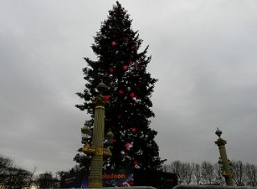 Le plus grand sapin de Noël d'Europe
