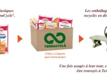 St Michel sponsorise le recyclage de ses emballages