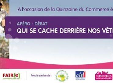 Le Tour de France du coton dans le cadre de la Quinzaine du Commerce Equitable