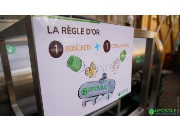 Valoriser les biodéchets avec Upcycle